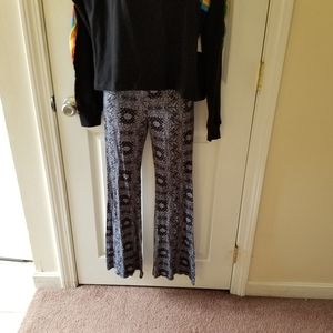 Forever 21 Flare Leg Lounge Pants Small